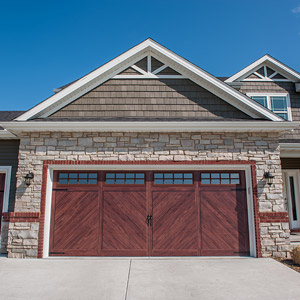 Flush Carriage Garage Doors