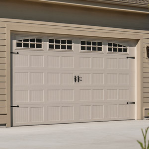 Stamped Carriage Style Garage Door